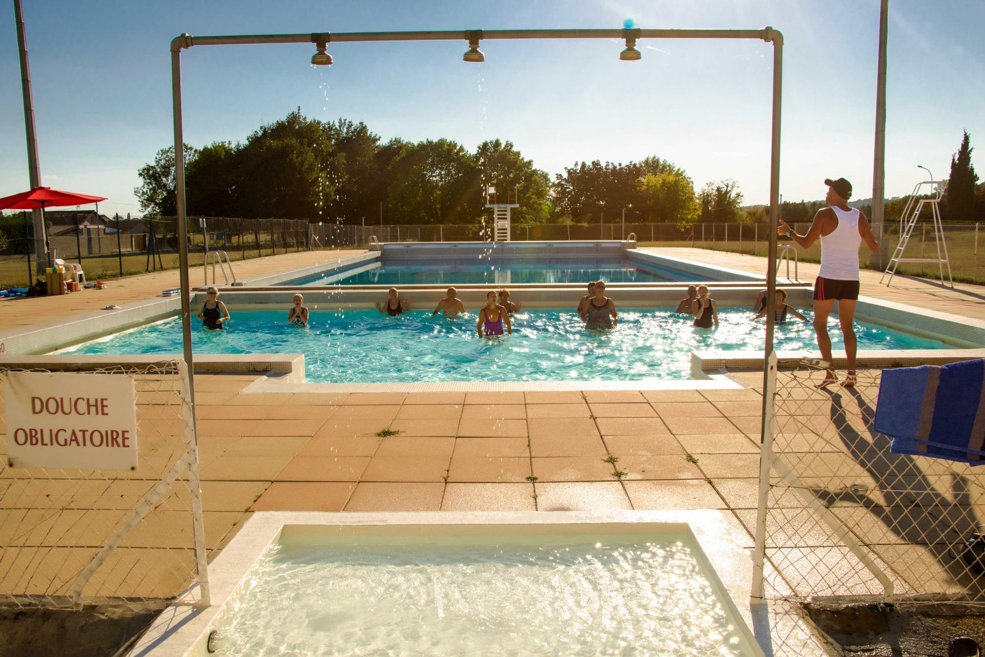 Camping piscine for Camping piscine
