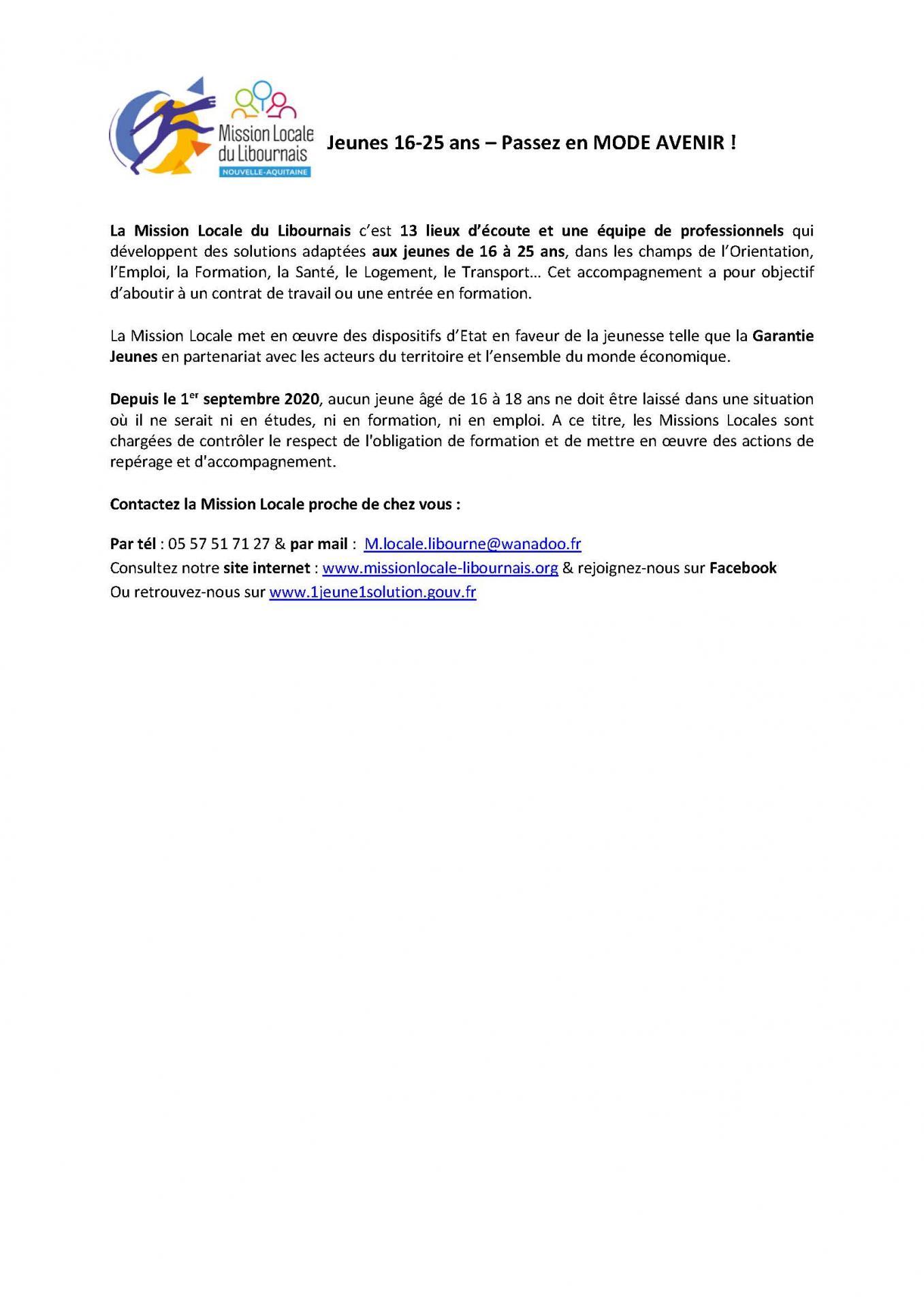Presentation ml pour bulletin municipaux 2020