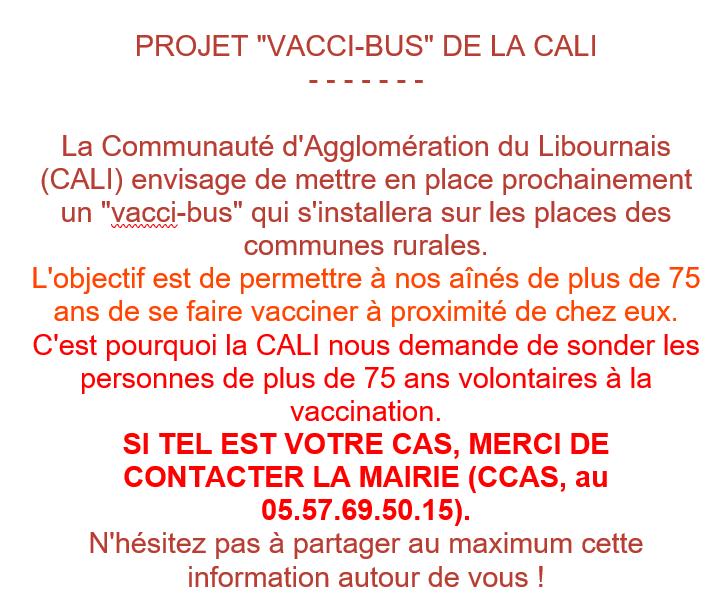 Vacci bus